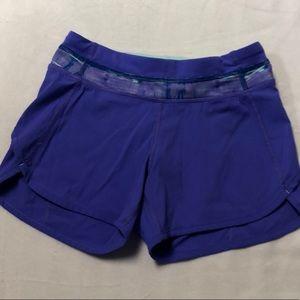 Lululemon Athletica Girls Running Shorts Size 10